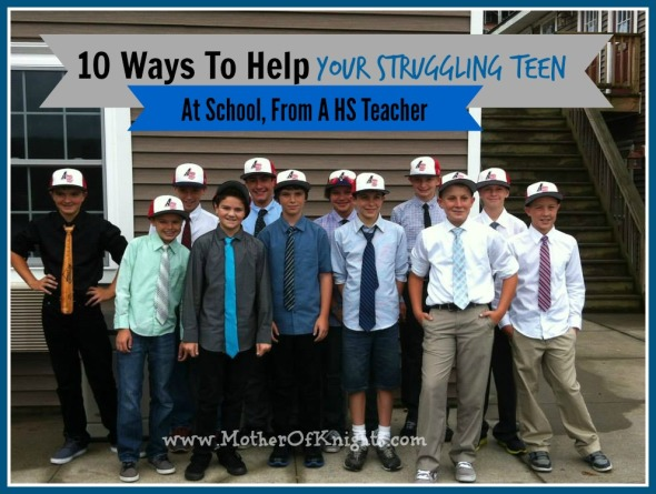 10 Ways To Help Your Struggling Teen At School, From A HS Teacher