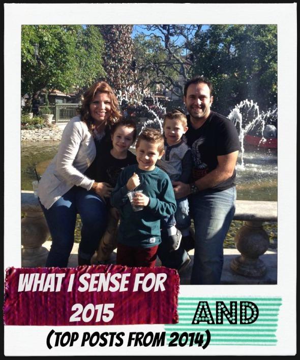 What I Sense For 2015
