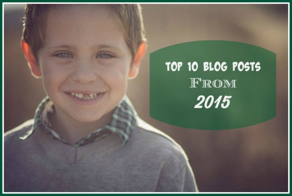 Top 10 Blog Posts From 2015